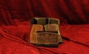 Zalbrett erszény (papirpénz, aprópénz) mérete: 11x8 cm