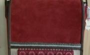 Kis tarisznya, hímzett díszítéssel (4) mérete: 24x26x8 cm